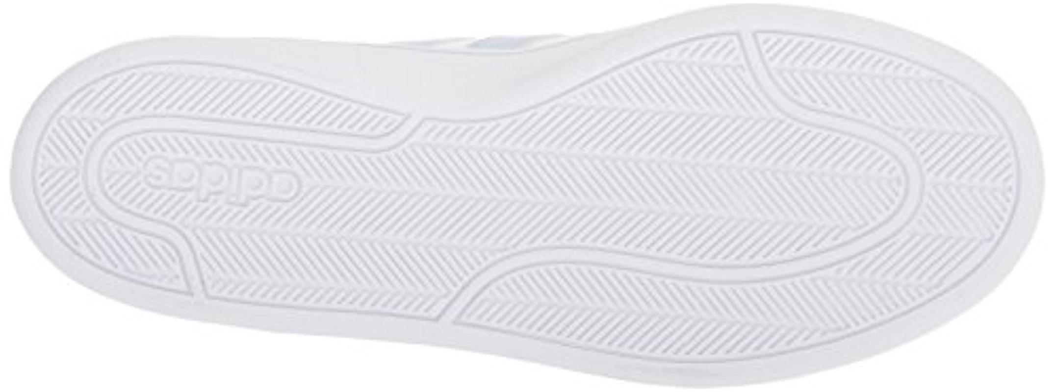 lyst adidas originali del vantaggio delle scarpe da ginnastica, ftwr bianco, aero blu