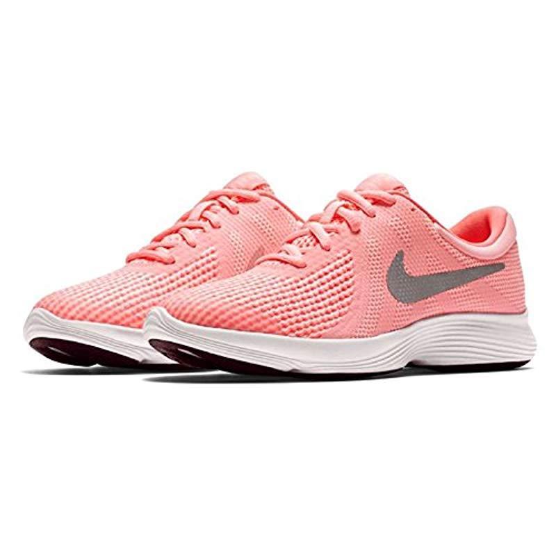 99ca37374621f Nike - Revolution 4 (gs) Trail Running Shoes Pink - Lyst. View fullscreen