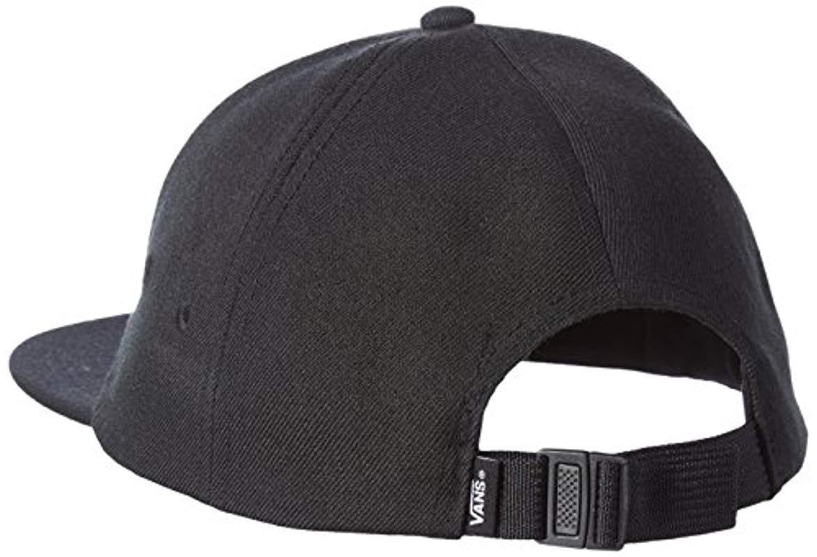 Vans - Black  s X Peanuts Jockey Baseball Cap for Men - Lyst. View  fullscreen a735b7e79a1f