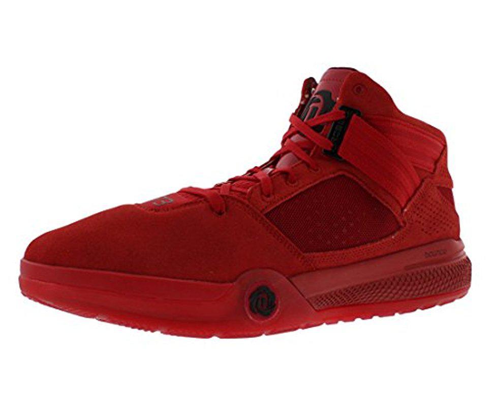 lyst adidas performance s rose 773 iv basket scarpa in rosso per gli uomini.