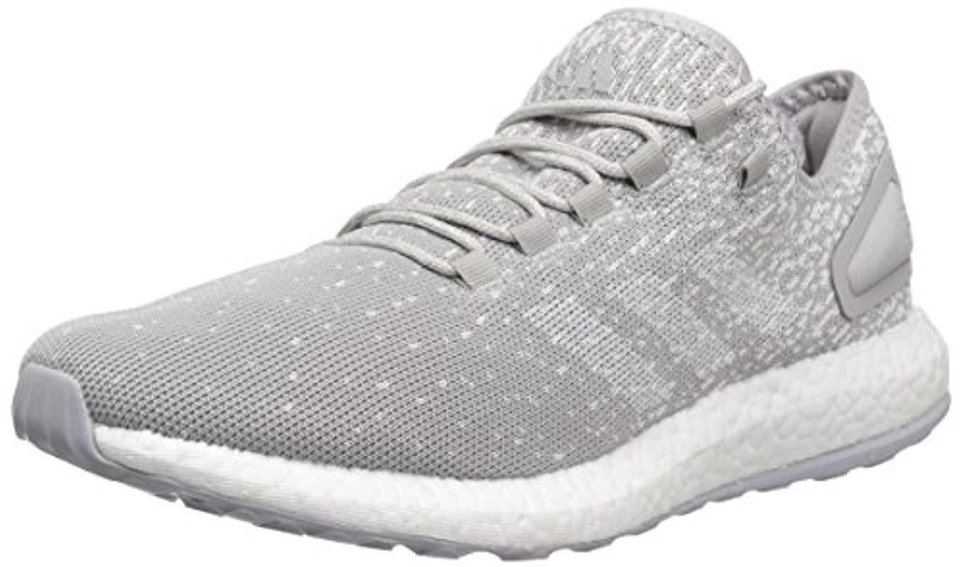 3b47f1fad9254 Lyst - adidas Pureboost Reigning Champ M Running Shoe in Gray for Men