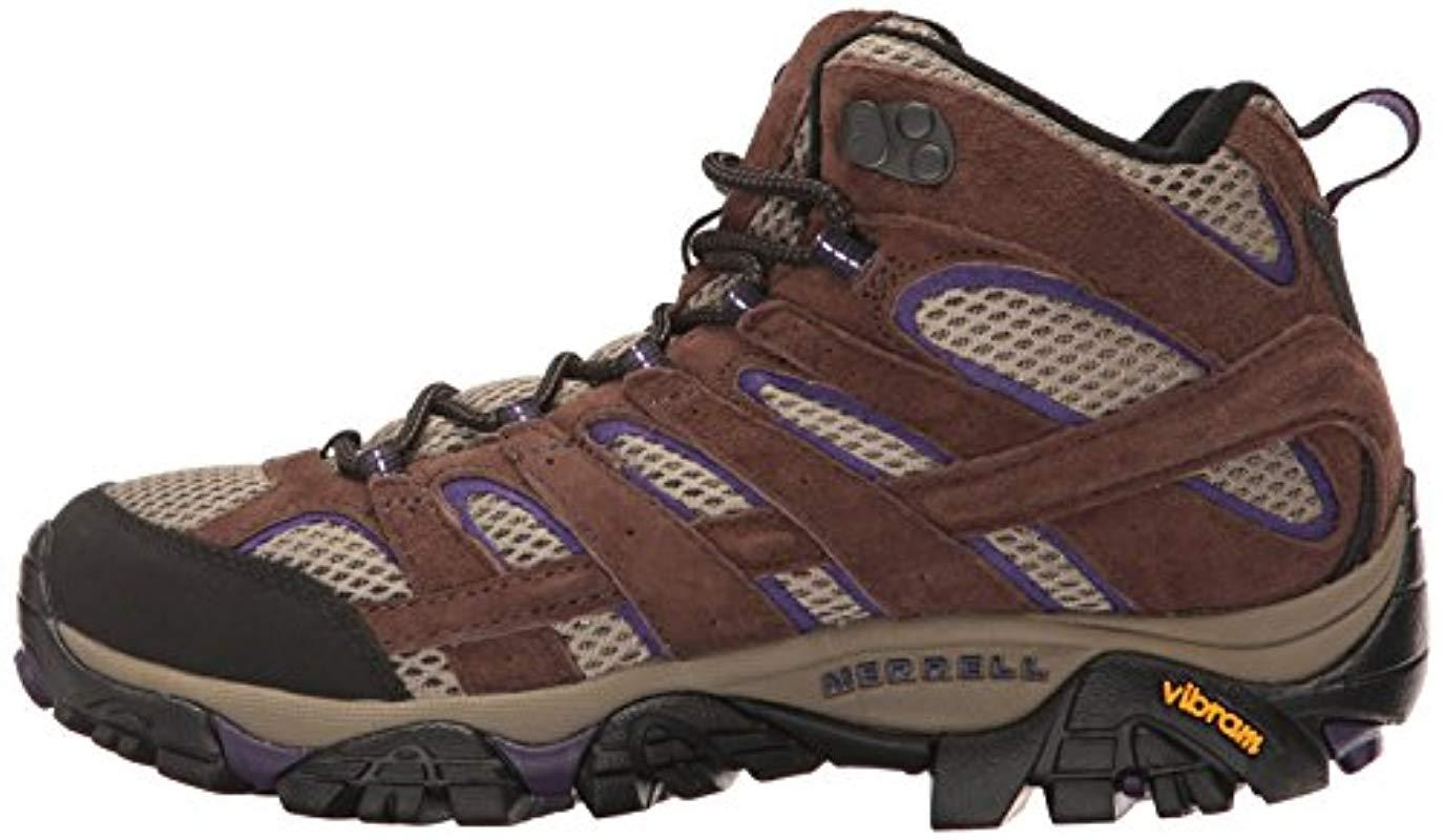 Merrell Leather Moab 2 Vent Mid Hiking Boot
