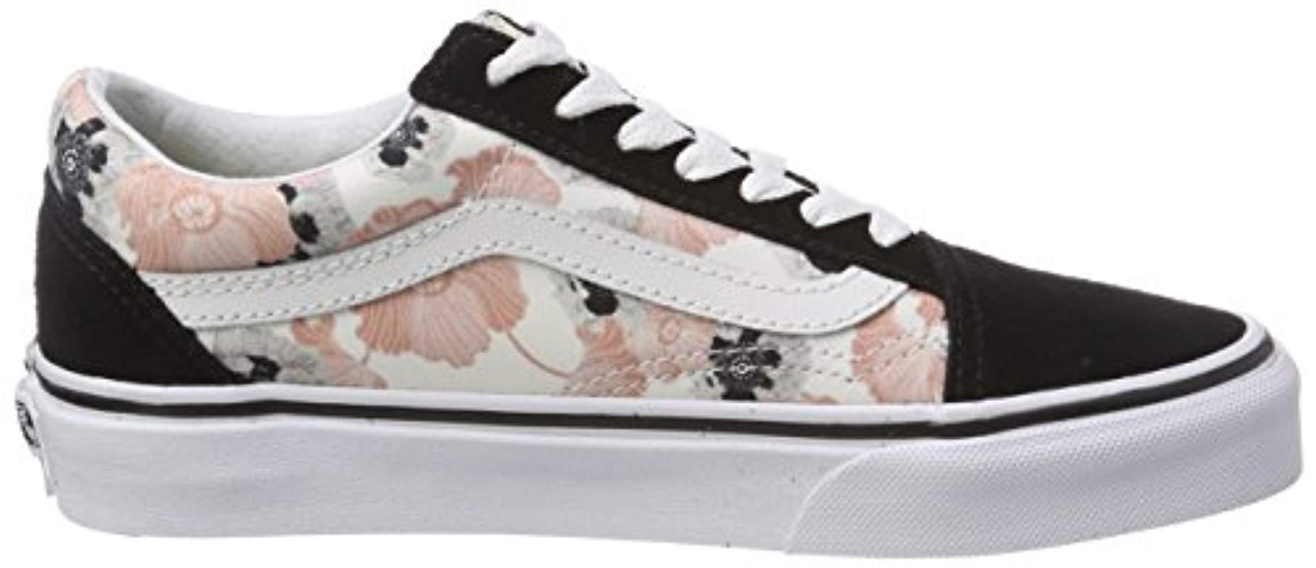 Old Skool, Chaussures de Running Femme Vans en coloris Noir - Lyst