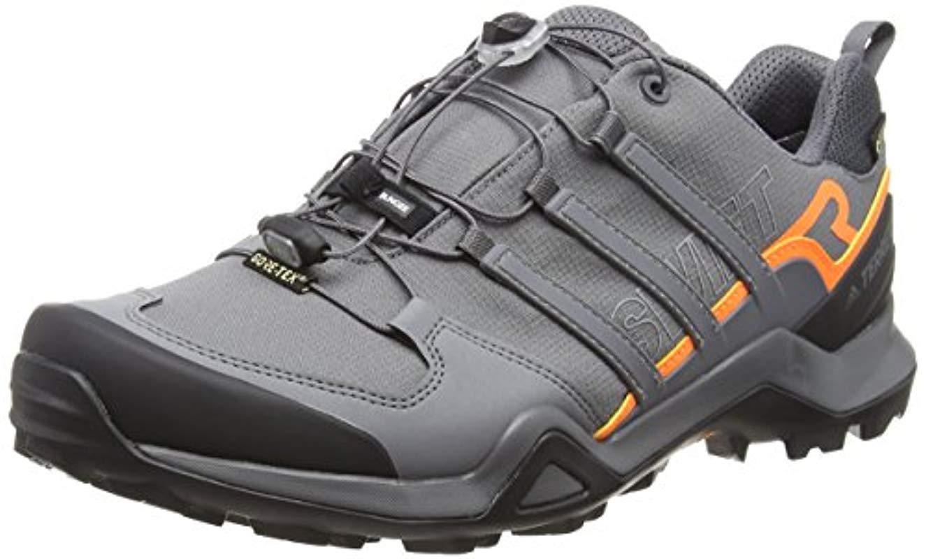32bf42d39 adidas Terrex Swift R2 Gtx Cross Trainers in Gray for Men - Lyst adidas  men s terrex