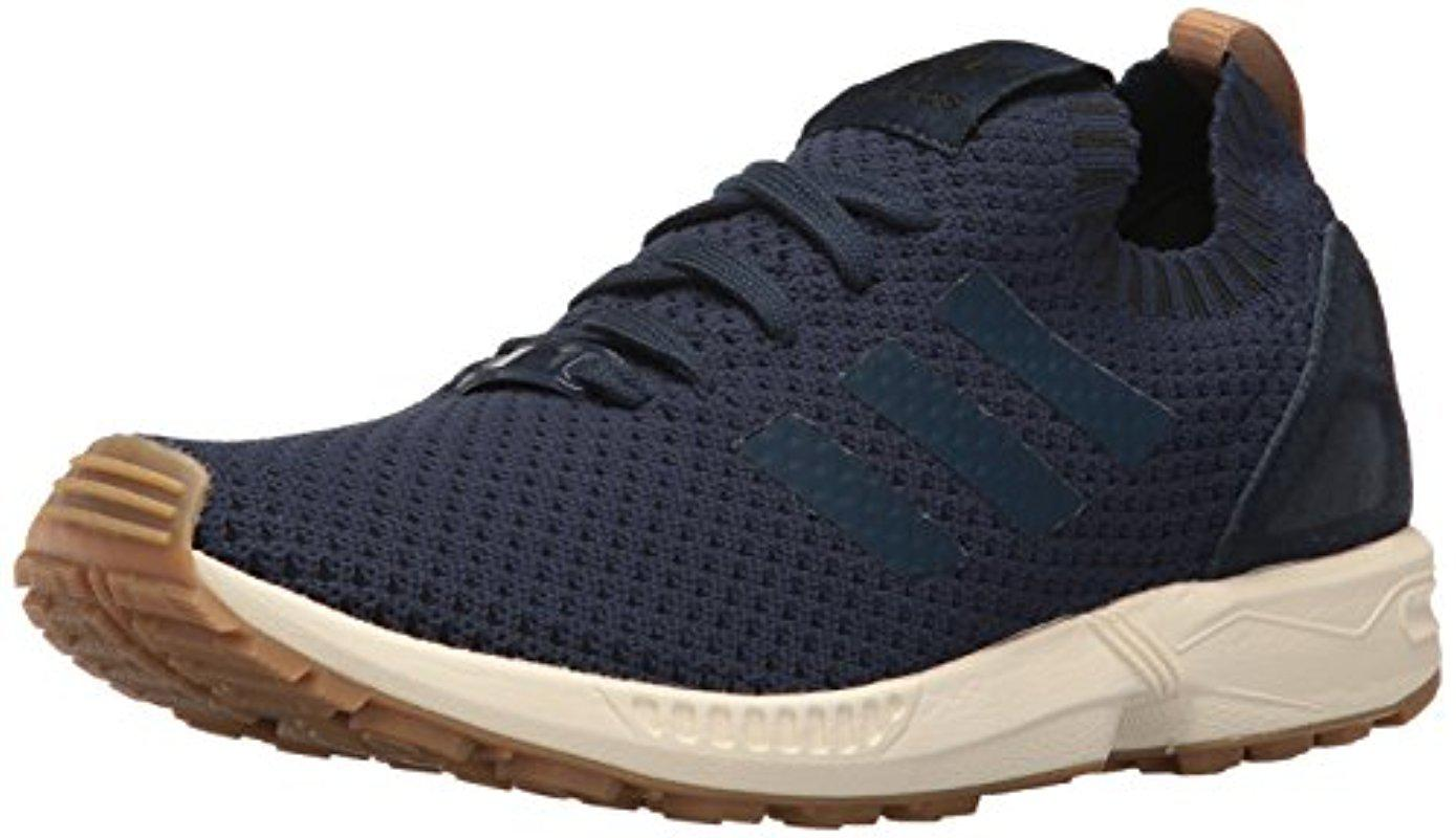 92bc6471a7f93 Lyst - adidas Originals Zx Flux Pk Fashion Sneaker in Blue for Men ...