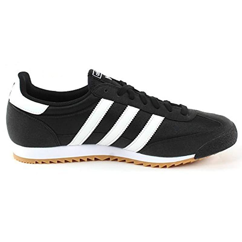 Adidas   s Dragon Og Trainers in Black for Men - Lyst e67bbd62e