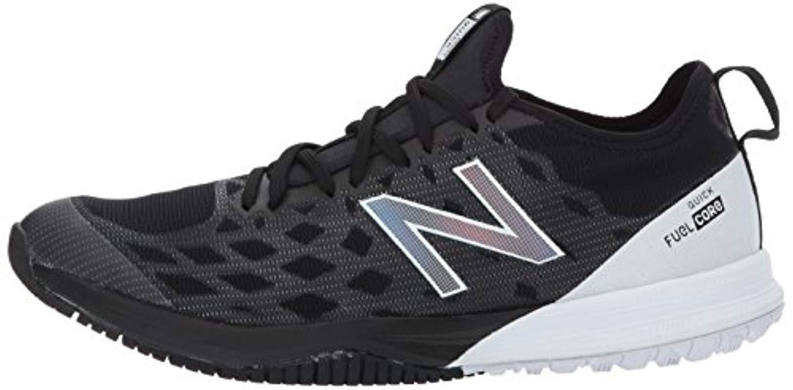New Balance Fuelcore Quick V3 Running Shoes in Black/White (Black ...