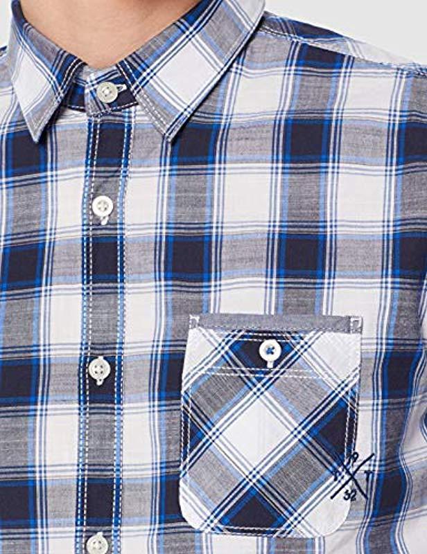 Tom Tailor 1008843 Freizeithemd in Blau für Herren - Sparen Sie 7%