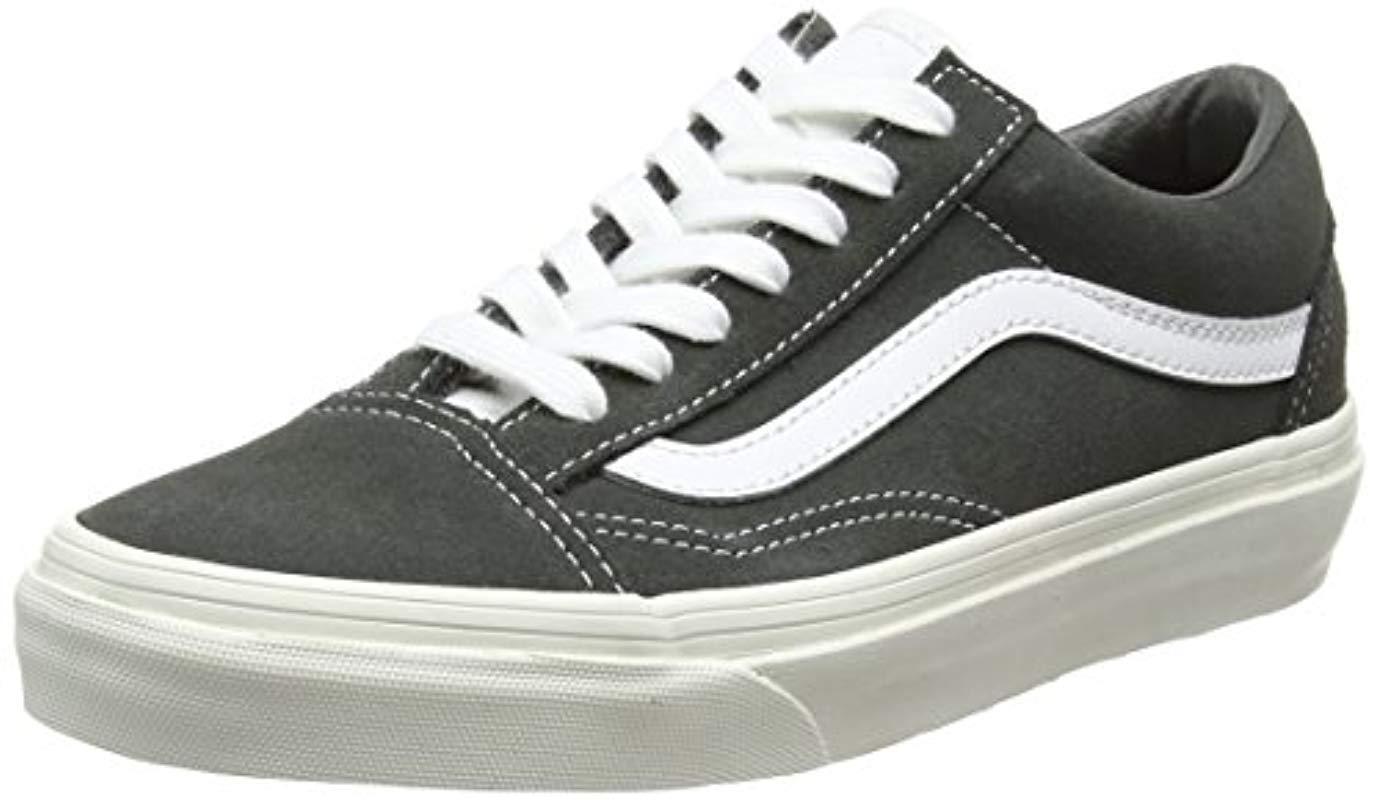 89fe905722 Vans Unisex Adults  Old Skool Trainers in Gray for Men - Lyst