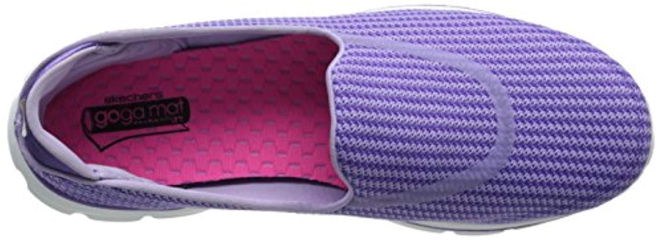 Go Walk 3 Skechers de Tejido sintético de color Morado