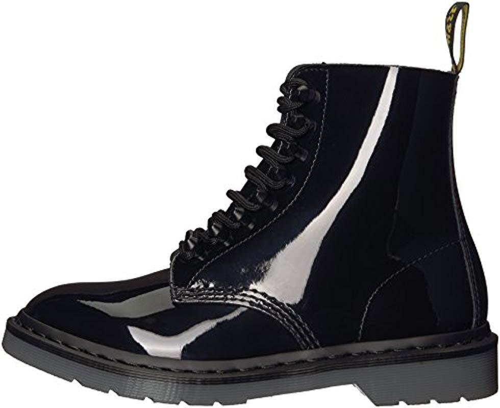 Dr. Martens Leather Pascal Stud Boots Black