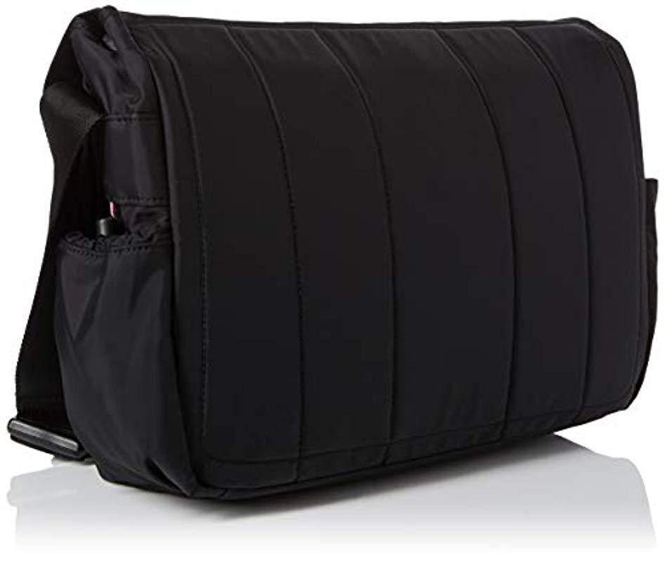 aadf4c4bd616f Tommy Hilfiger - Black Easy Messenger Bag for Men - Lyst. View fullscreen