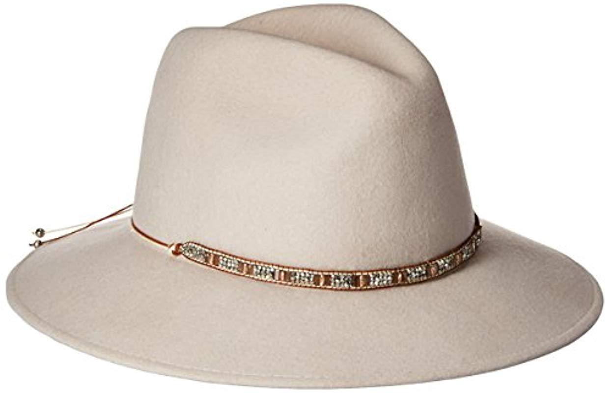 e994e105fd7 Gottex. Women s Natural Moonlight Wool Felt Sun Hat ...