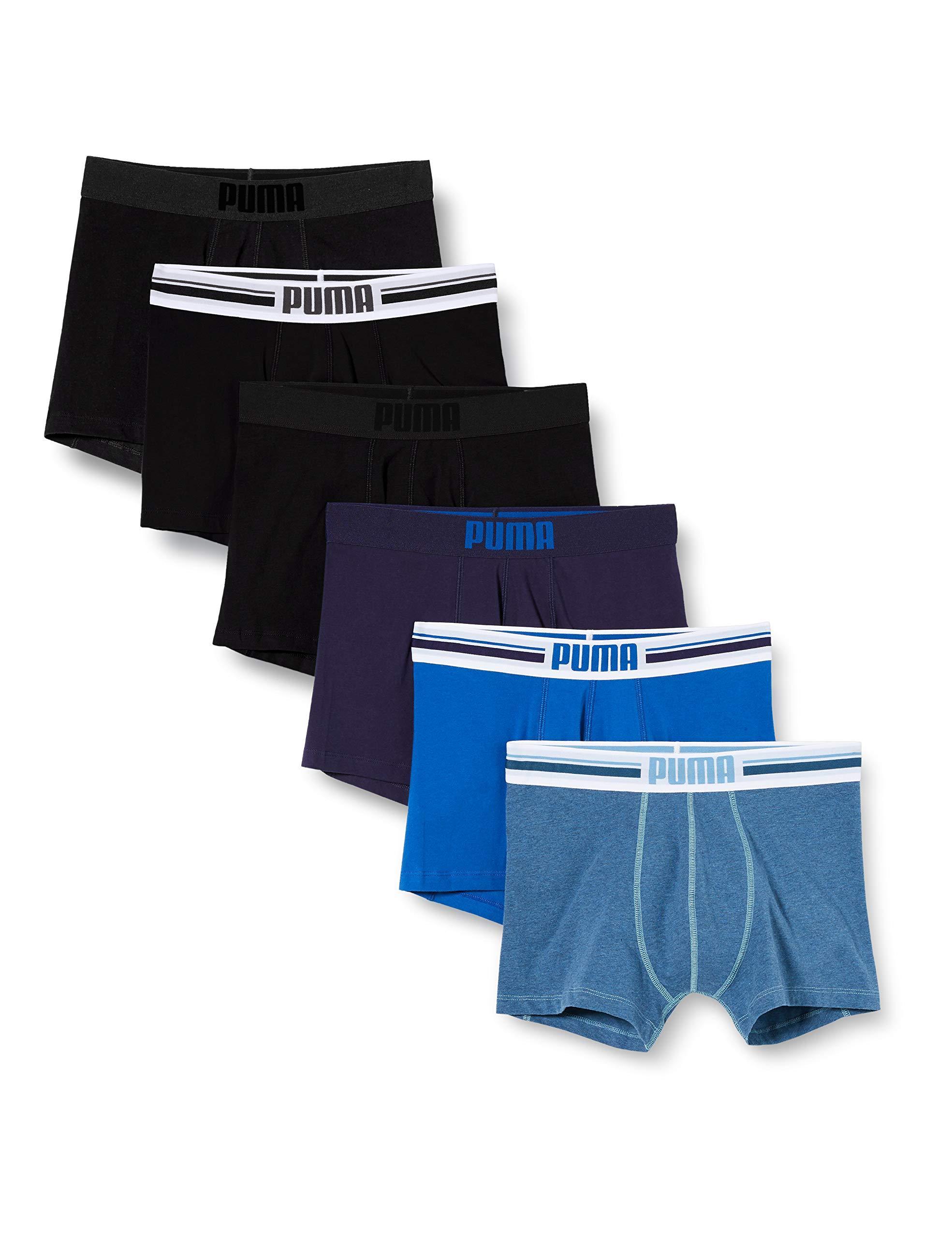 Basic Place Logo Boxer Multipack Caleçon PUMA pour homme en ...