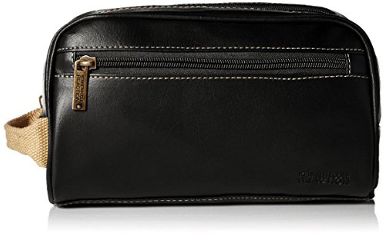 Lyst - Kenneth Cole Reaction Top Zip Single Compartment Travel Kit ... 3e5868379f856