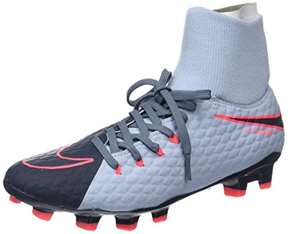 cda8e158143c Nike Hypervenom Phelon 3 Df Fg Football Boots in Blue for Men - Save ...