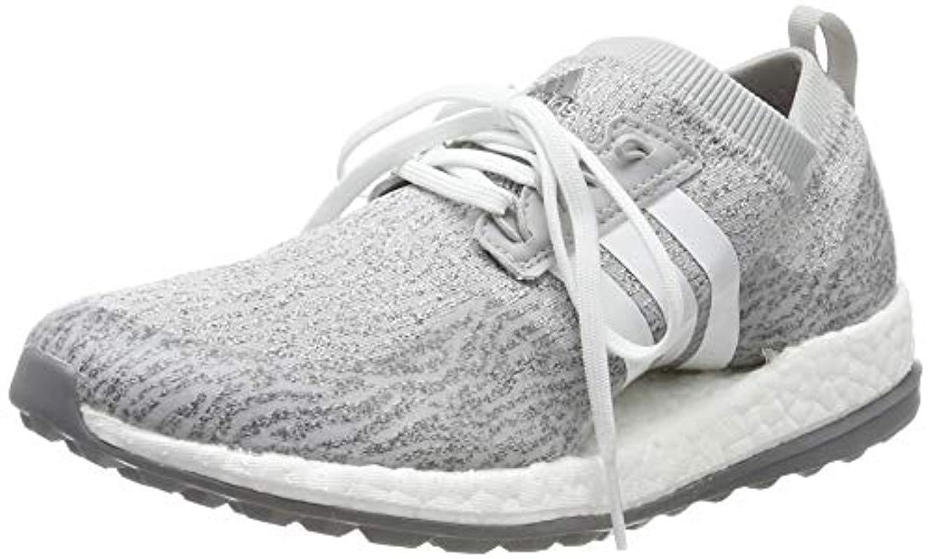 b8c2c145c37d7 adidas W Pure Boost Xg Golf Shoe in Gray - Save 35% - Lyst