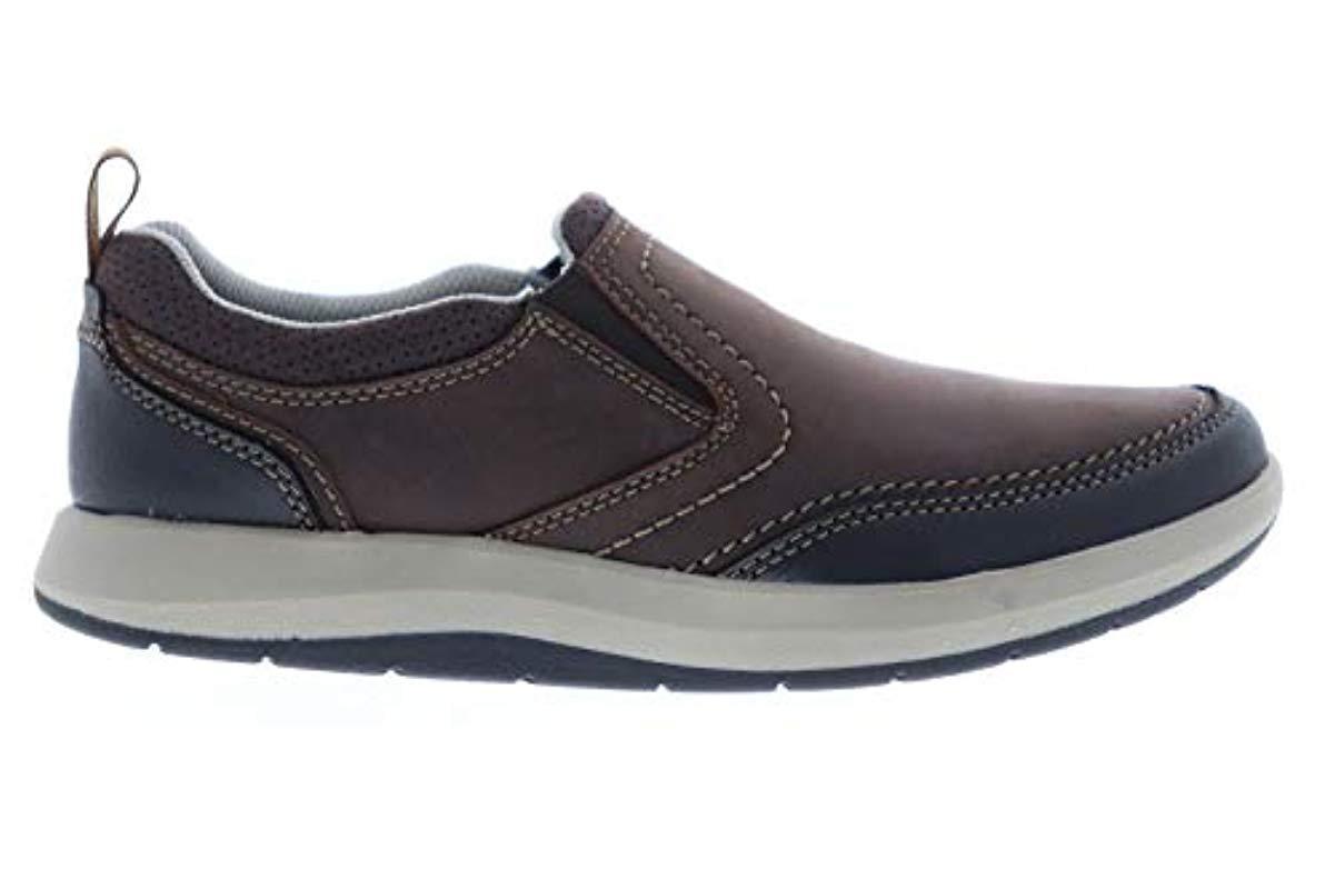 Clarks Leather Shoda Race Ii Shoe in