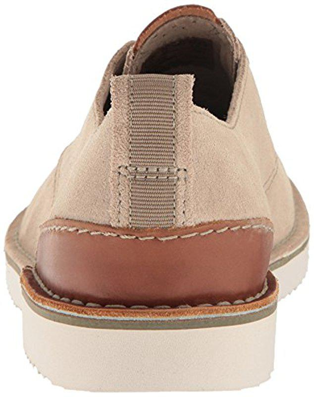 lobo Roca alias  Clarks Leather Capler Plain Oxford in Sand Suede (Natural) for Men - Lyst