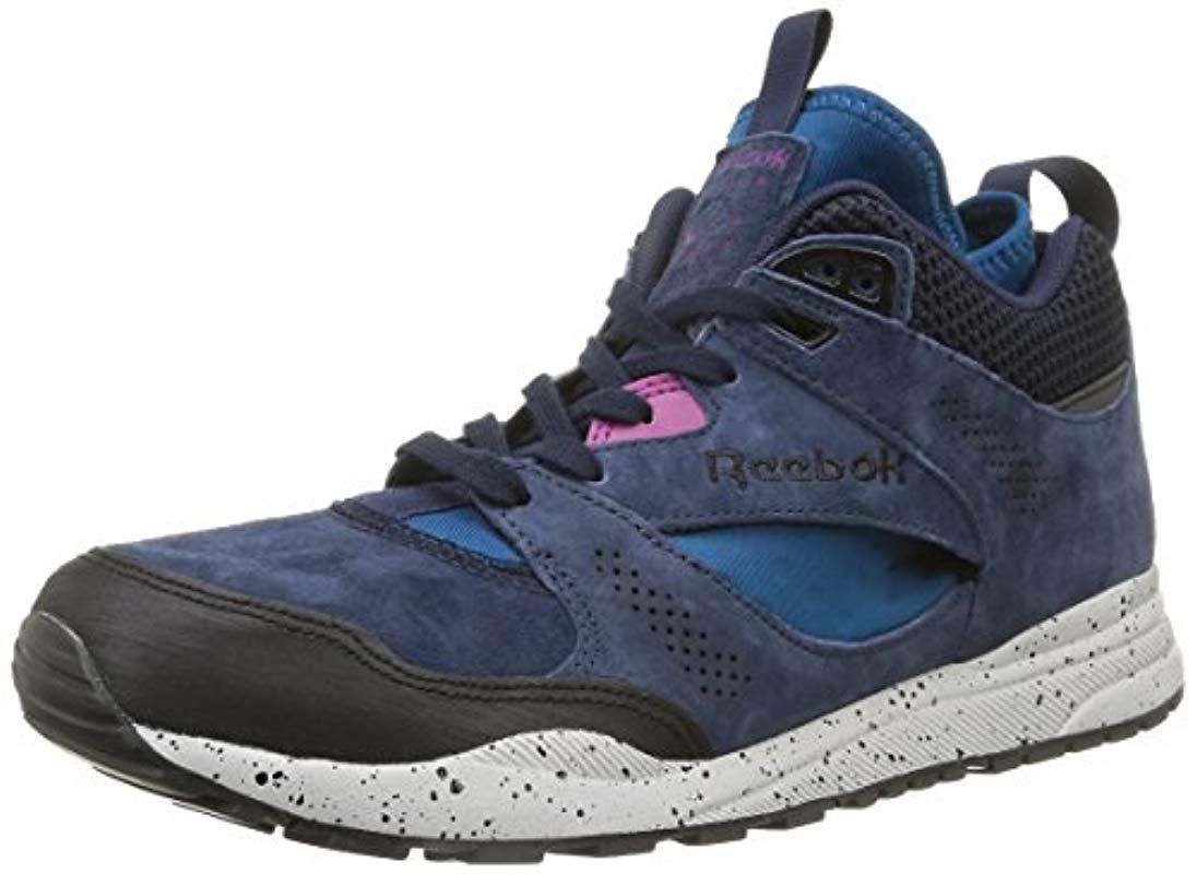 253d2976864b6 Men's Blue Ventilator Mid Running Shoes
