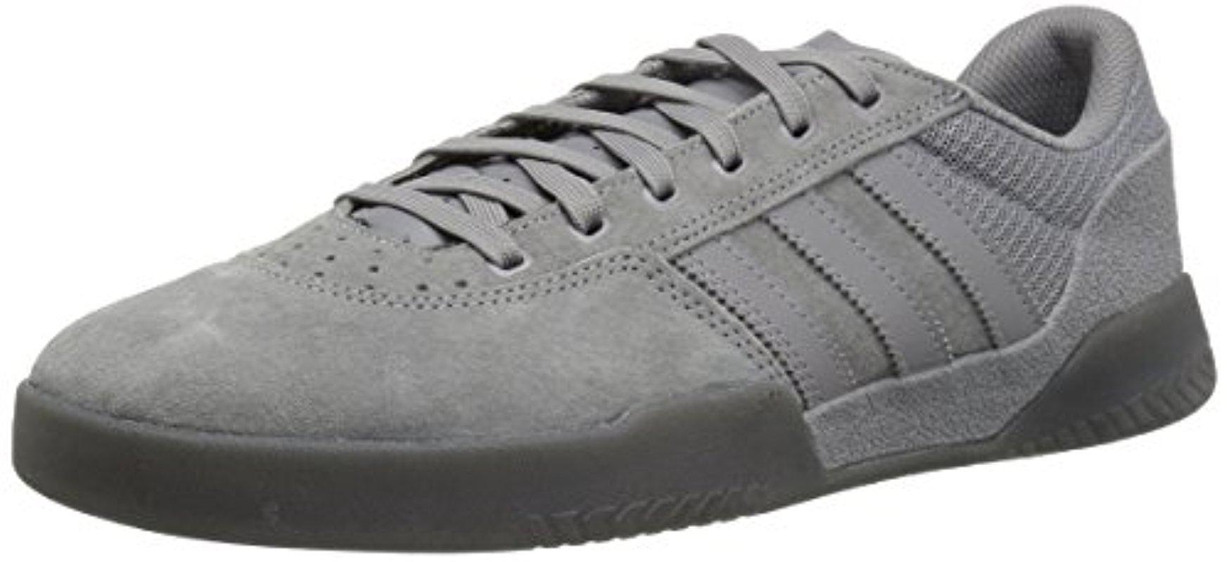 sports shoes 7c841 34cfe Lyst - adidas Originals City Cup Skate Shoe in Gray for Men