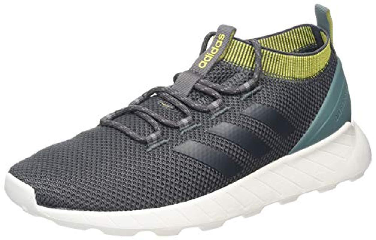a79c4ea4308ff adidas Questar Rise Gymnastics Shoes Green in Gray for Men - Lyst
