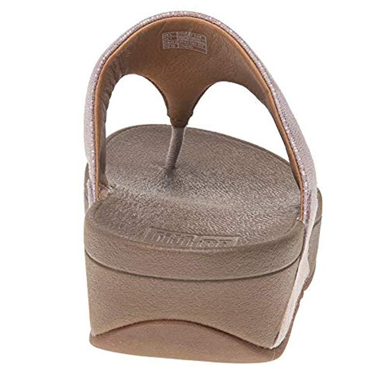 b6555e300 Fitflop - Brown Shimmy Suede Toe-thong Sandals Flip-flop - Lyst. View  fullscreen