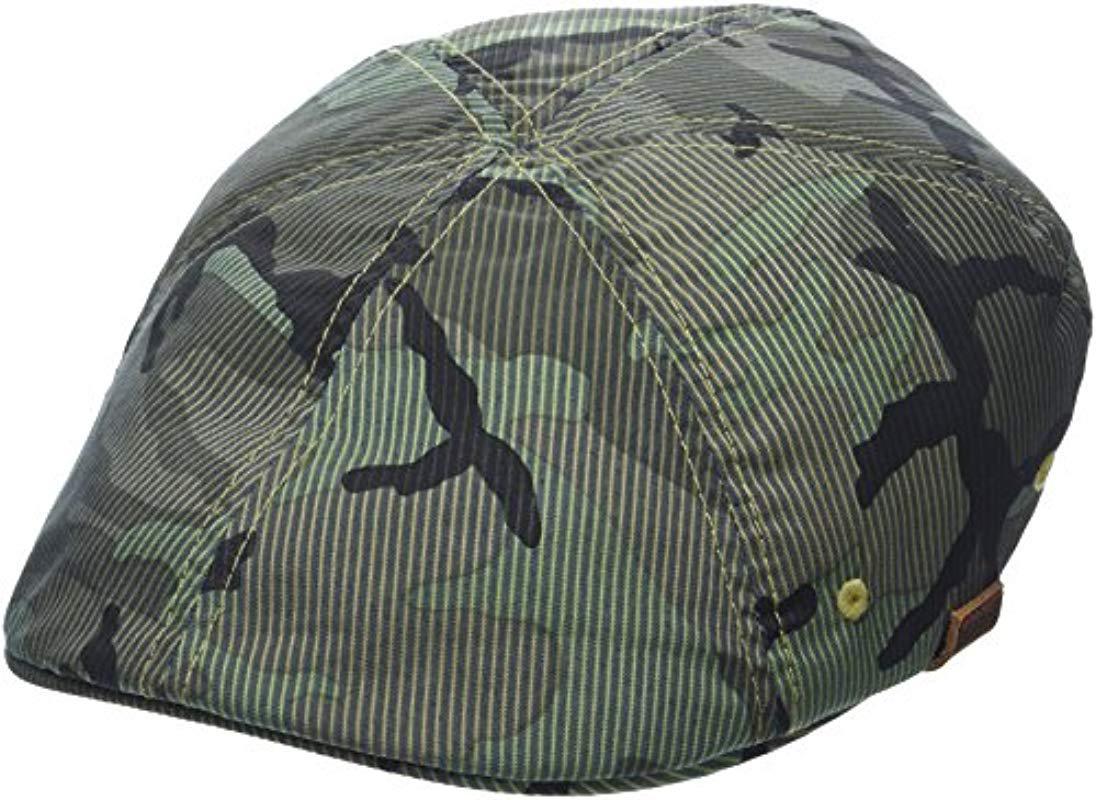 2b22ad65 Kangol Pattern Flexfit 504 Ivy Cap in Green for Men - Lyst