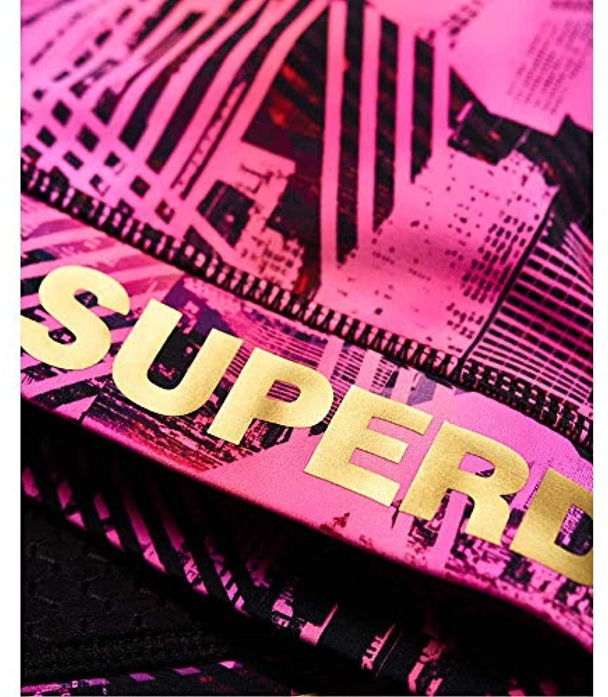 Active Bra Top Splice City Print XL en Synthétique Superdry