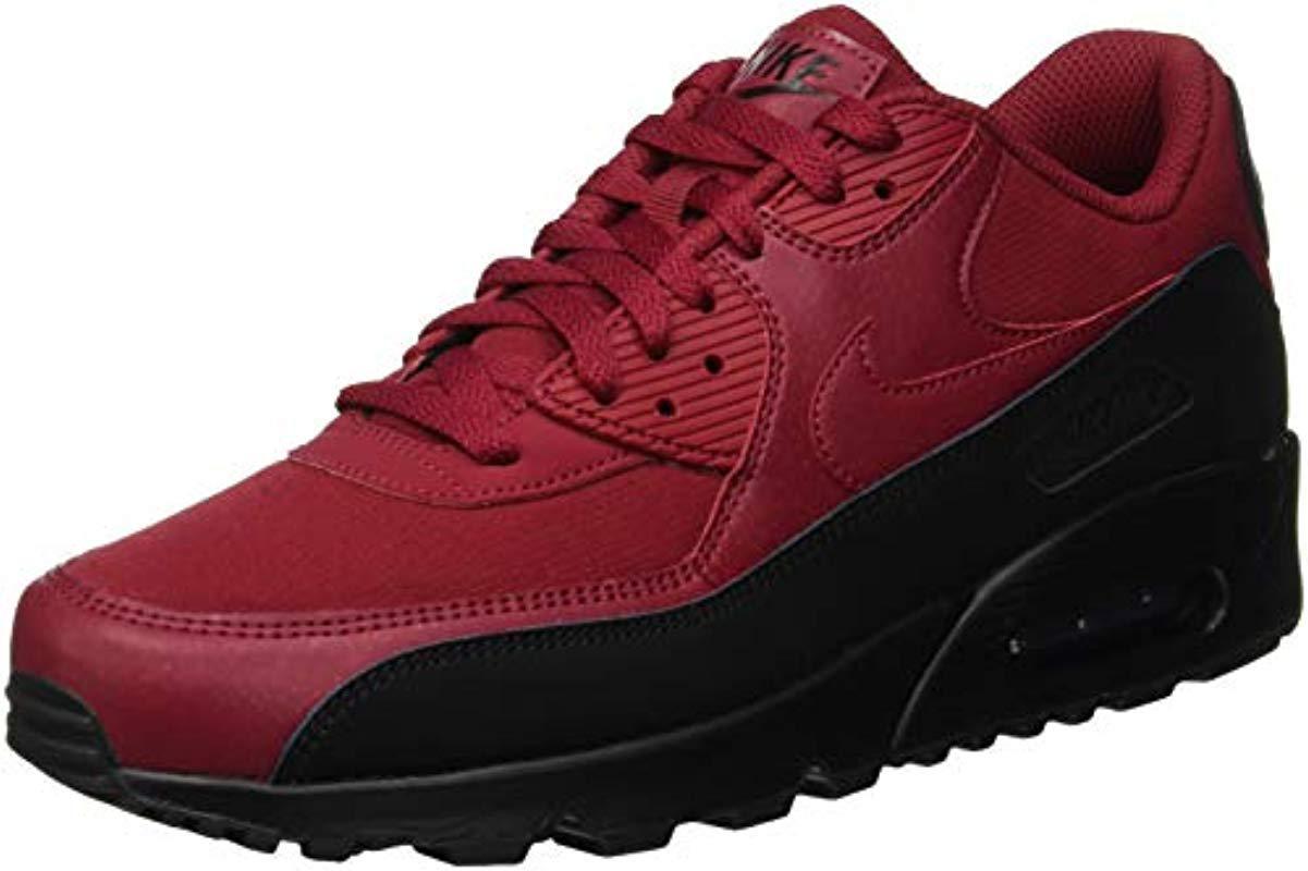 Air Max 90 Essential, Baskets Basses Homme Cuir Nike pour homme en ...