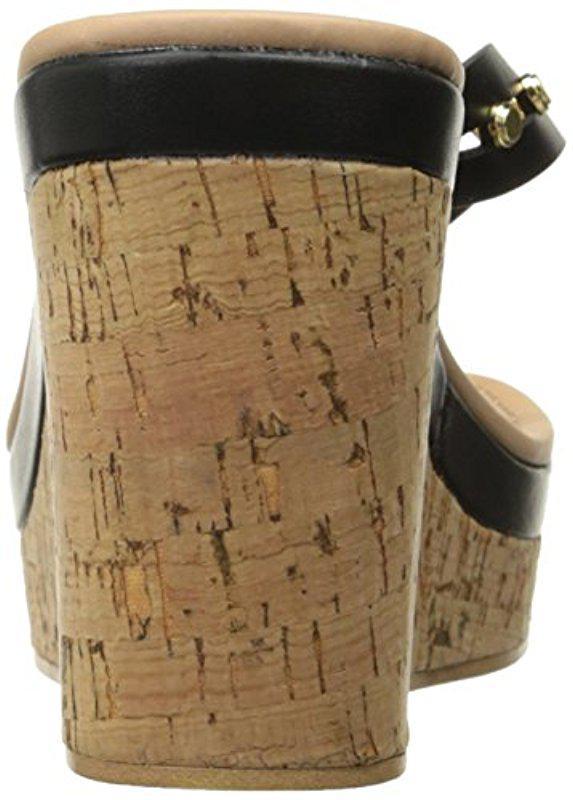 718042f0f3ec Lyst - ALDO Costalpino Wedge Sandal in Black