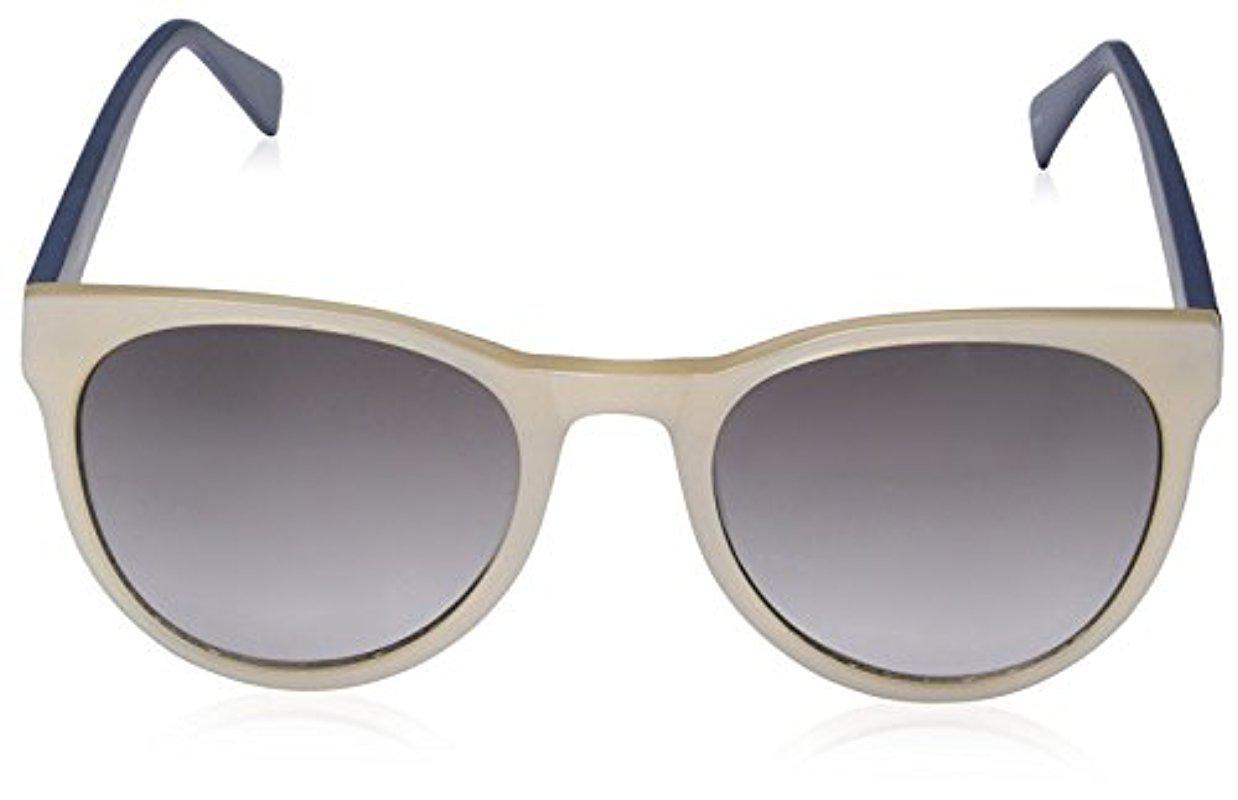 SOCIETY NEW YORK Women's 15H0098 Sunglasses, Oyster/Blue