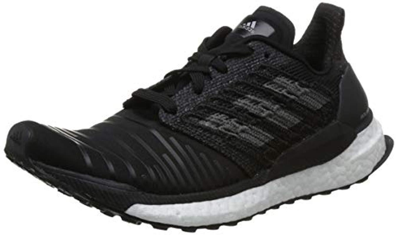 separation shoes c9ddf 582a2 Adidas - Black Solar Boost W Running Shoes - Lyst