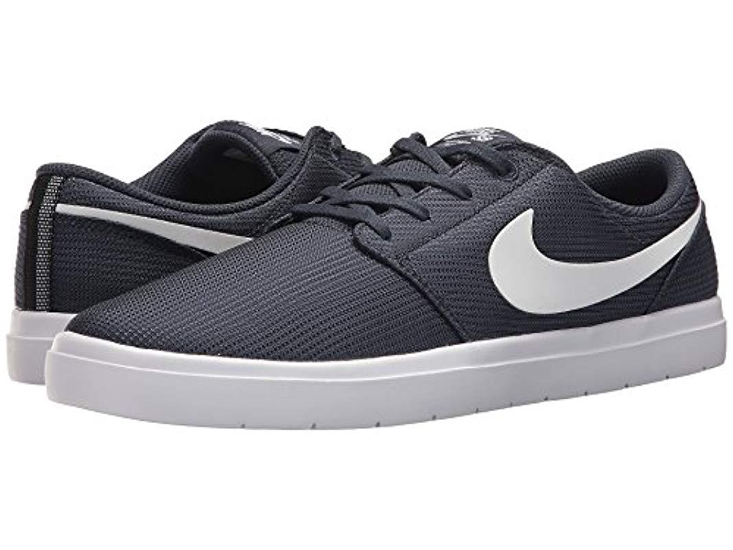 Nike Sb Portmore Ii Ultralight Thunder Bluewhite Black