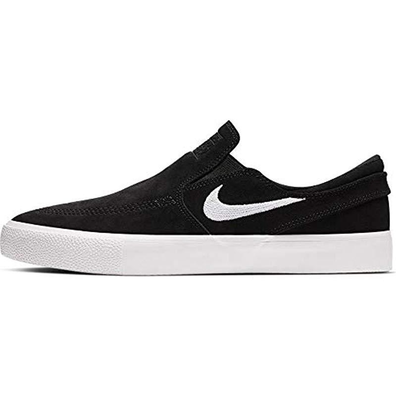 Nike Sb Zoom Janoski Trainers In Black Suede