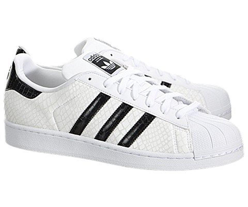 lyst adidas superstar scarpe originali per gli uomini