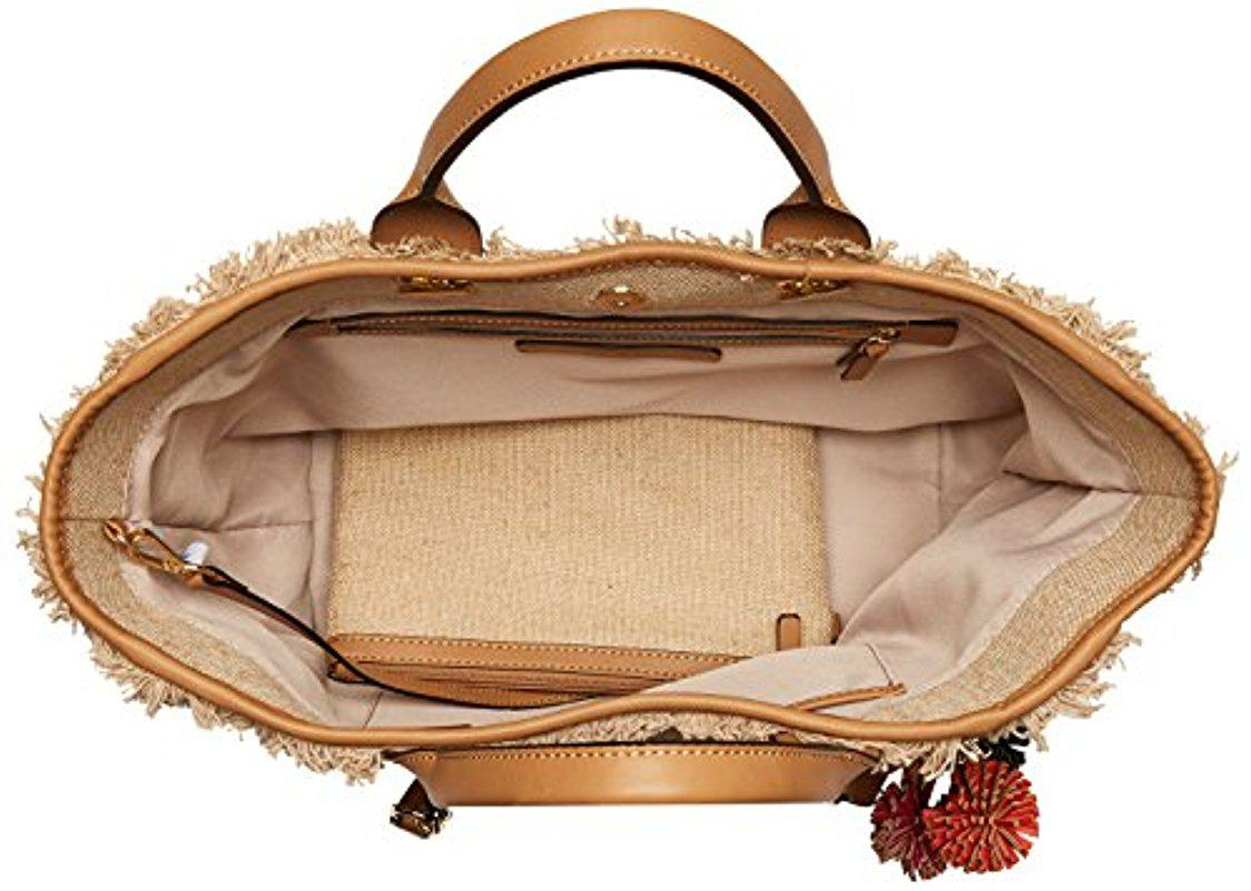 Nine West Trixie Tote with Pouch Natural