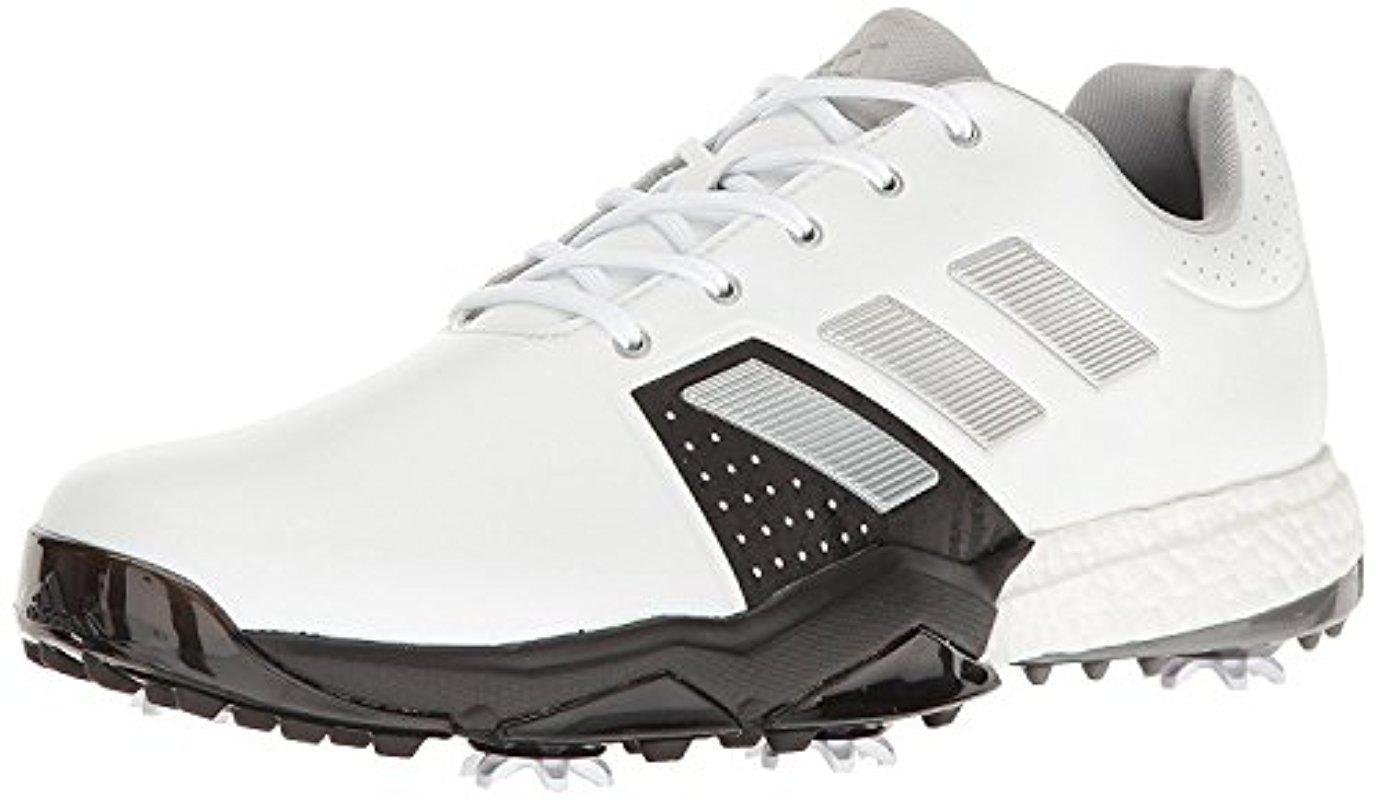 Lyst Adidas Adipower Spinta 3 Scarpa Da Golf In Bianco Per Gli Uomini.