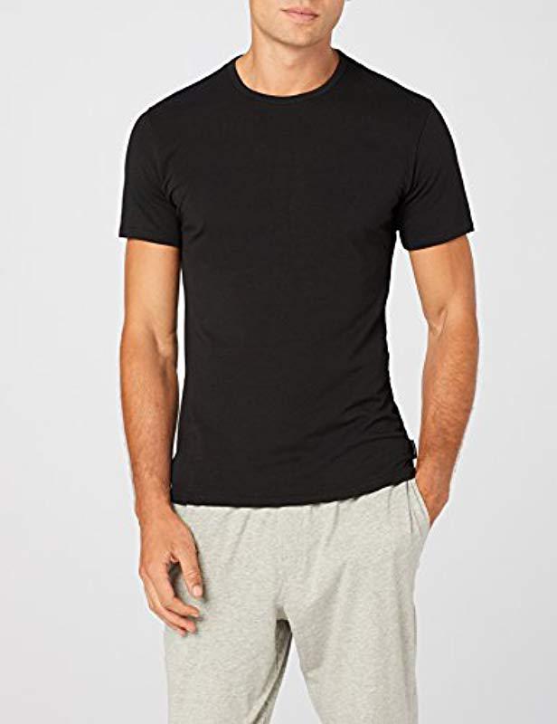 3038f611f9 Calvin Klein 2p S s Crew Neck 2p S s Crew Neck T-shirt in Black for Men -  Lyst