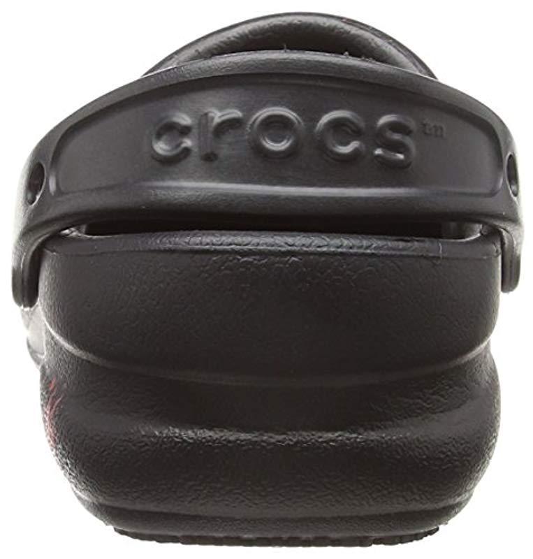 329e126f128c7e Crocs™ - Black Unisex Adults  Bistro Graphic Clog U - Lyst. View fullscreen