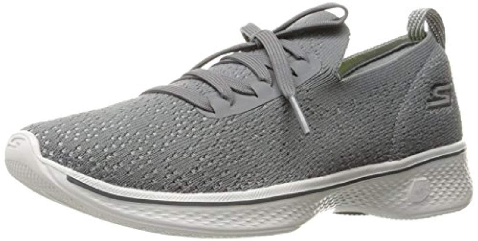 dc3f882ef526 Lyst - Skechers Go 4-14917 Walking Shoe in Gray - Save 6%