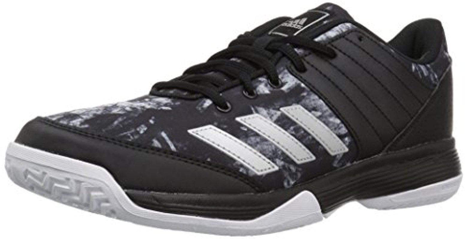 lyst adidas ligra 5 w scarpe da tennis, bianco / argento metallico / metallico.
