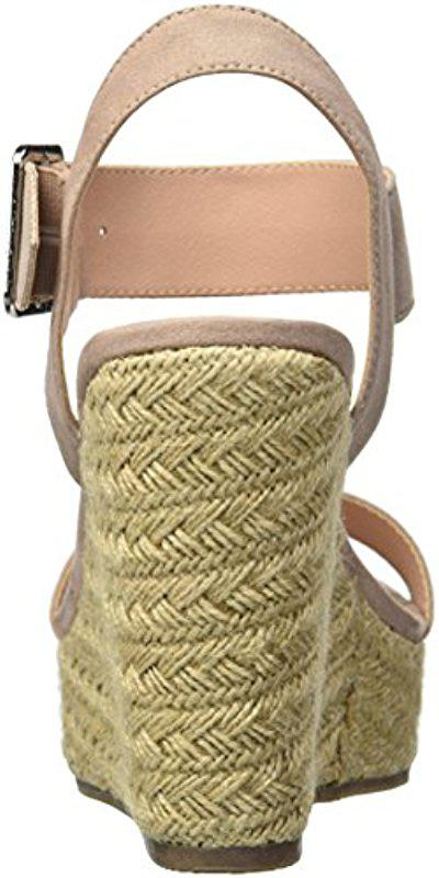 9468adfae12 Madden Girl - Natural Vail Espadrille Wedge Sandal - Lyst. View fullscreen