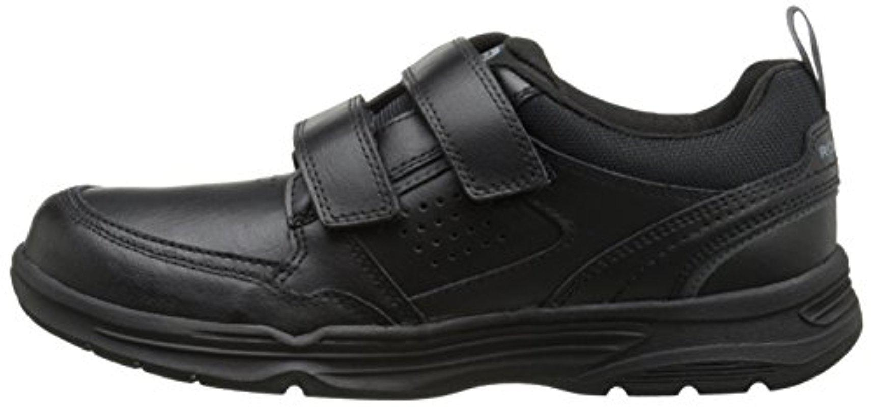 Rockport Suede State O Motion Velcro