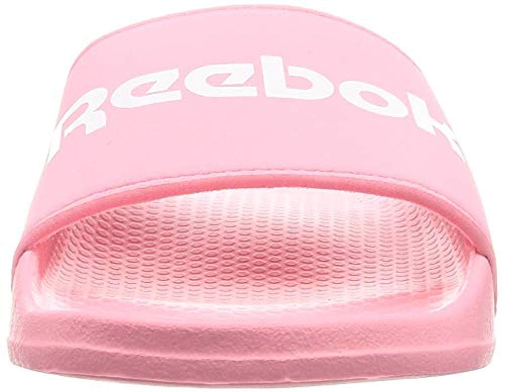 Classic Slide Reebok de color Rosa