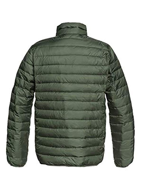 853cb93f7760e Lyst - Quiksilver Scaly Fzzip Up Jacket in Green for Men - Save 16%