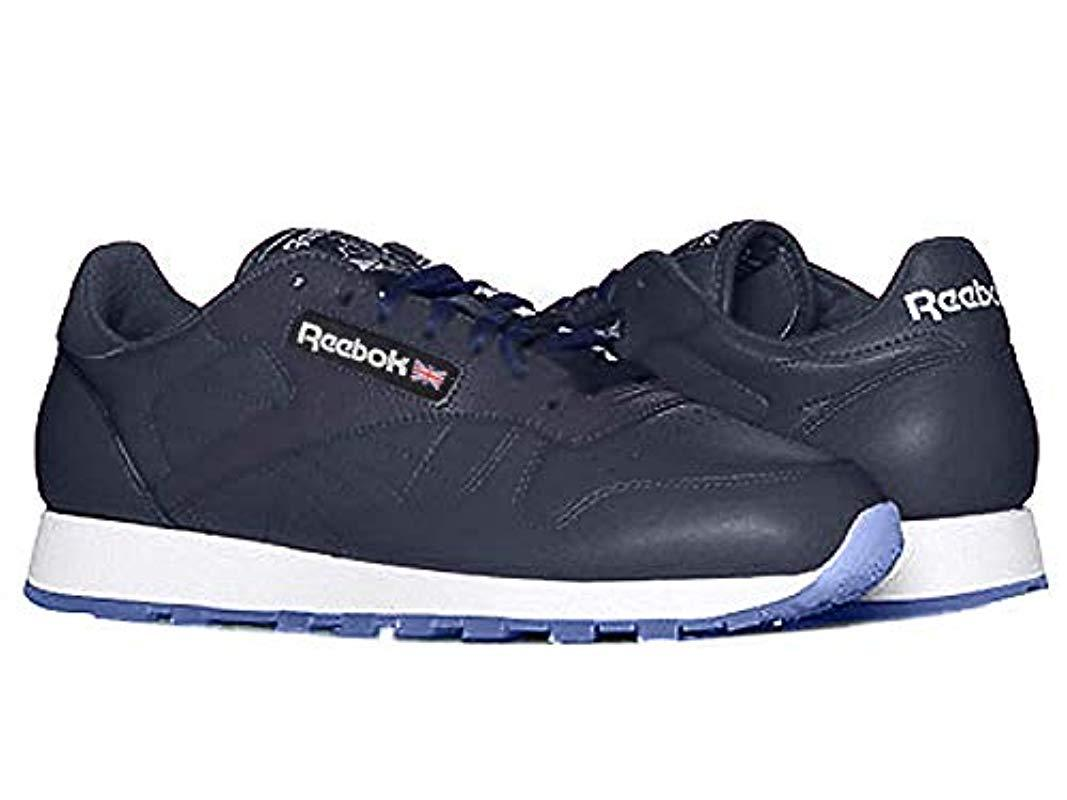 Reebok Classic Leather Ice-m in Blue