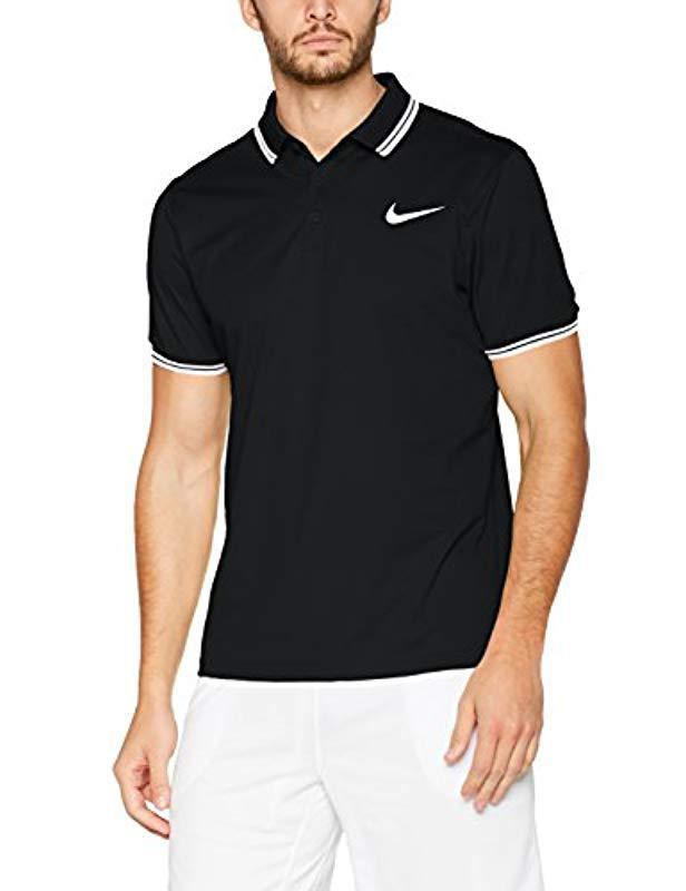 Nike For Dry M Lyst In Pq Men Shirt Nkct Polo Black Solid 7rfCwz7xq