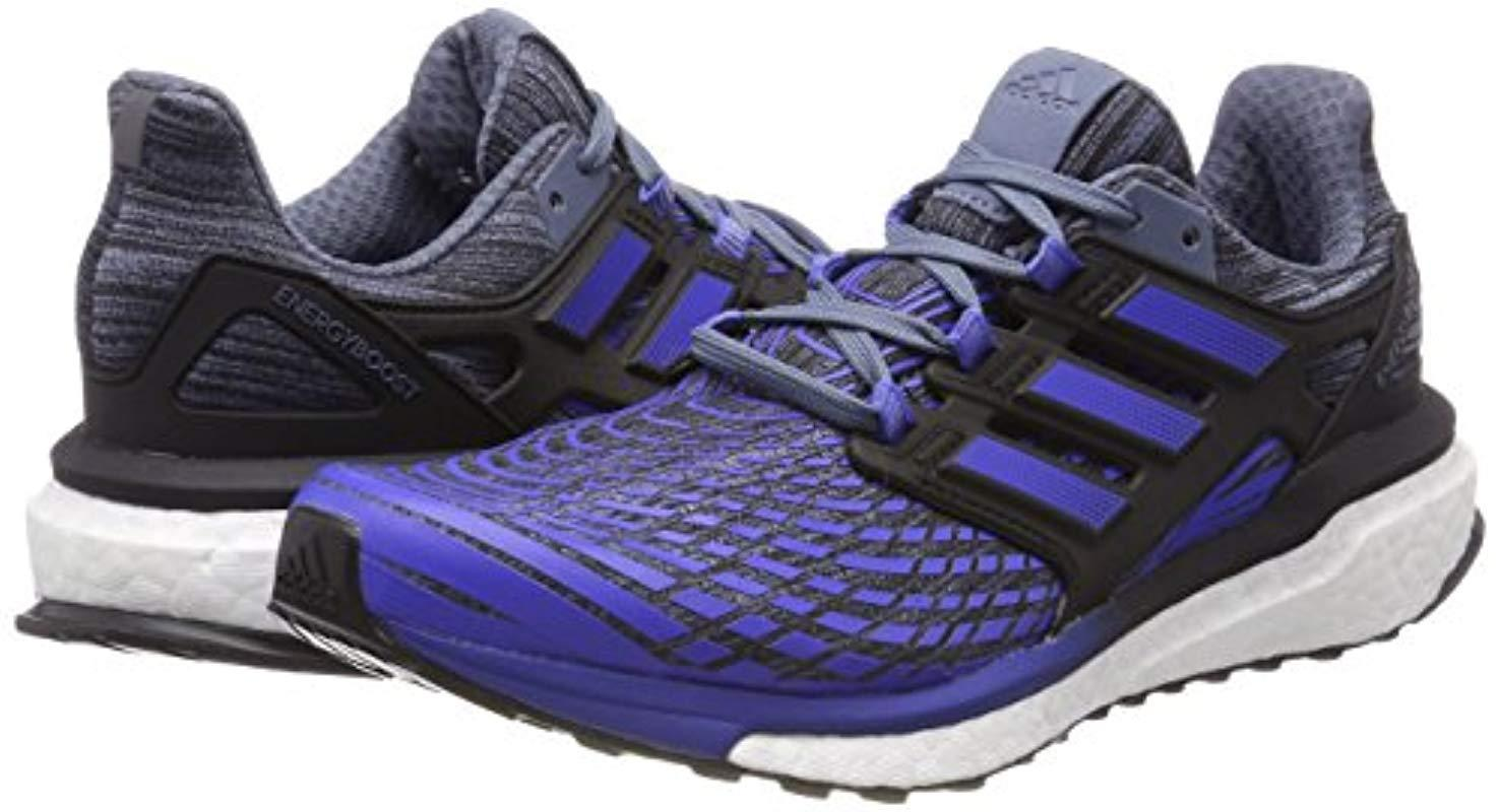adidas Energy Boost M Running Shoes in Blue for Men