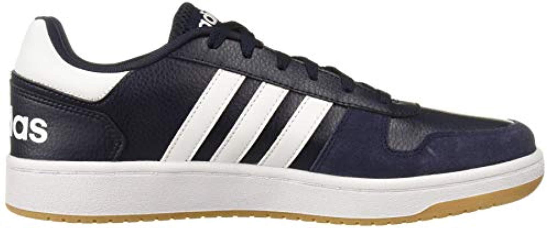 adidas Hoops 2.0 Sneaker in Blue for Men - Lyst